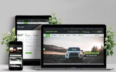 Green Dot Cars Website Design