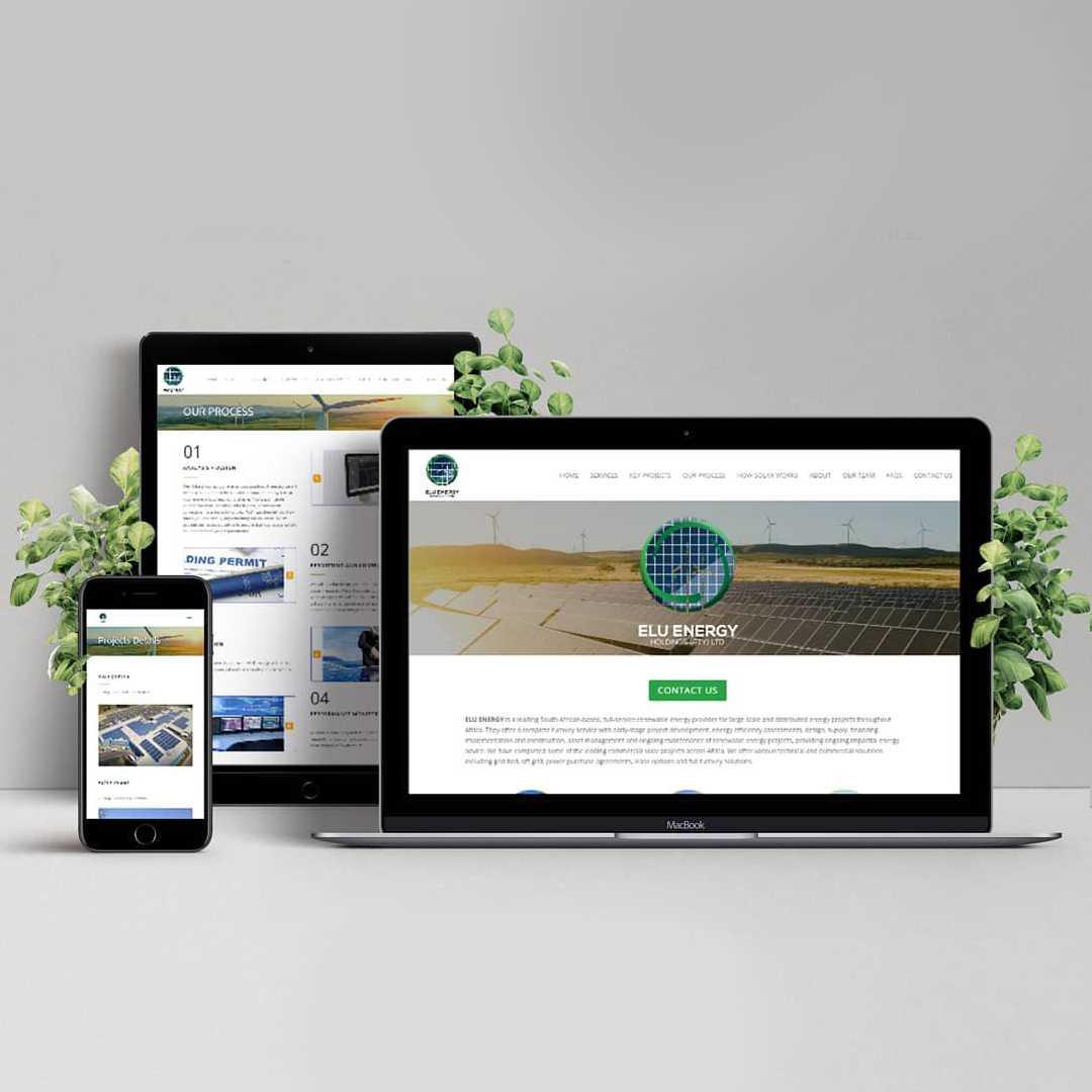 Elu Energy Website Design Project